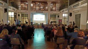la sala del circolo filologico milanese
